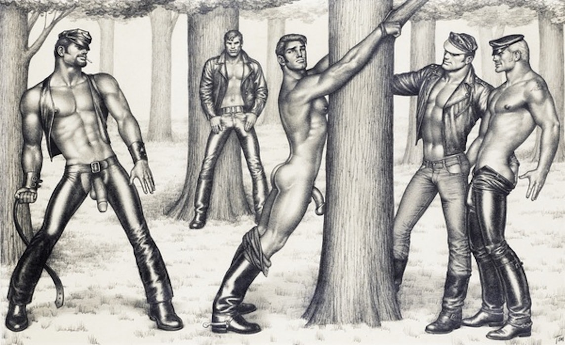 ART at Berlin - Courtesy of Tom of Finland Foundation - Tom of Finland - Untitled -1973