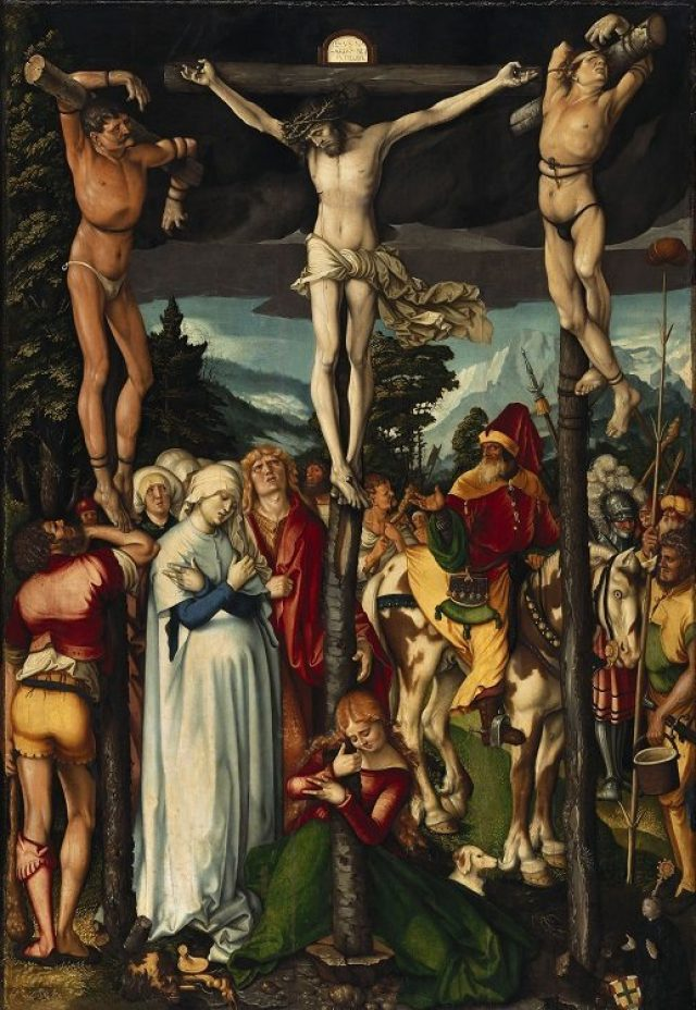 Hans Baldung – The Crucifixion of Christ