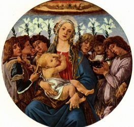 Sandro Botticelli – Madonna with Child